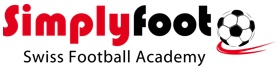 Fussballschule- Simplyfoot Swiss Football Academy Logo