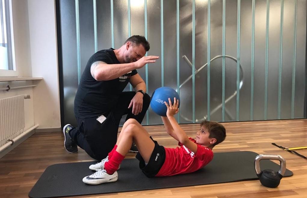 Athletiktraining-Fussballschule